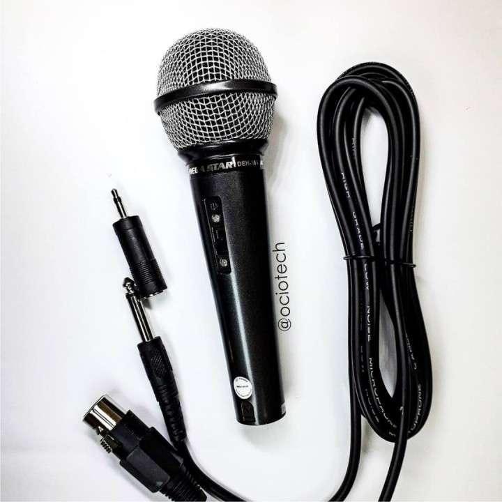 Micrófono dinámico con cable - 0