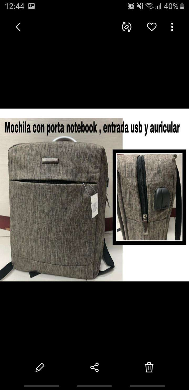 Mochila porta notebook - 0