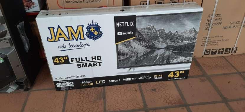 TV LED Smart Jam ultra Slim de 43 pulgadas - 0