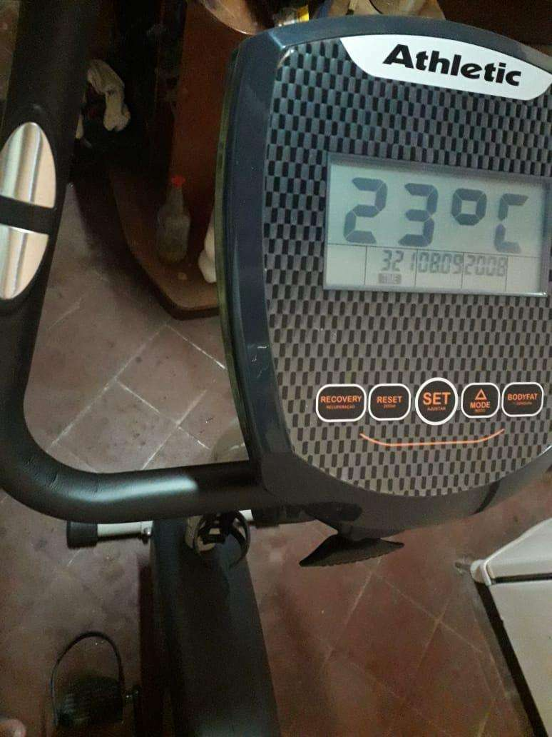 Bicicleta estática Athletic 470bv - 3
