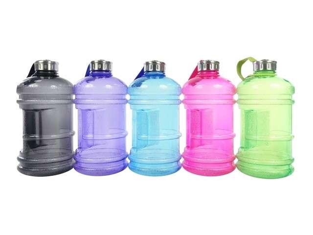 Botella para Agua de Plástico con Sujetador 2.5 lts - 0