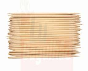 Palito de bambu punta chata 50 unidades