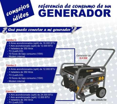 Generador 8.8KVA