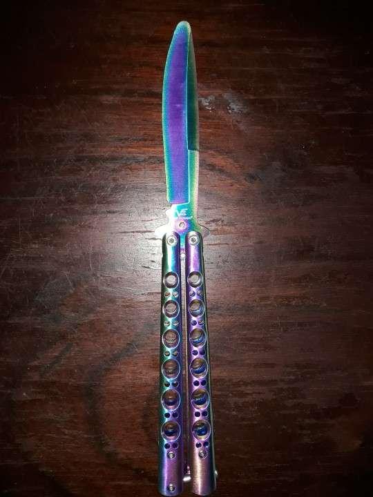 Cuchillo Mariposa de Práctica - 6