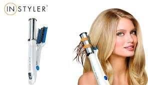 Alisador y rizador de cabello con plancha giratoria 50W 120V - 2