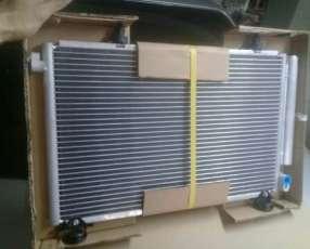 Condensador para aire acondicionado Toyota Platz IST Vitz FunCargo
