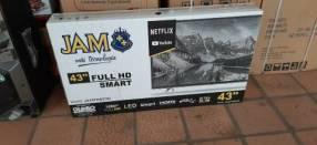 TV LED Smart JAN Ultra Slim de 43 pulgadas