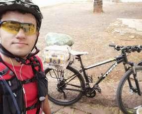 Porta bulto trasero para bicicleta