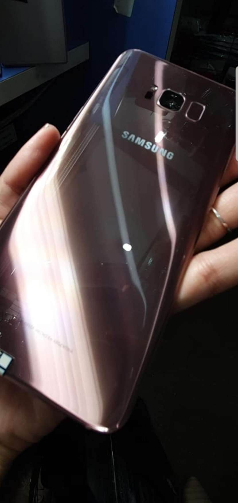 Samsung Galaxy S8 plus rosa impecable - 1