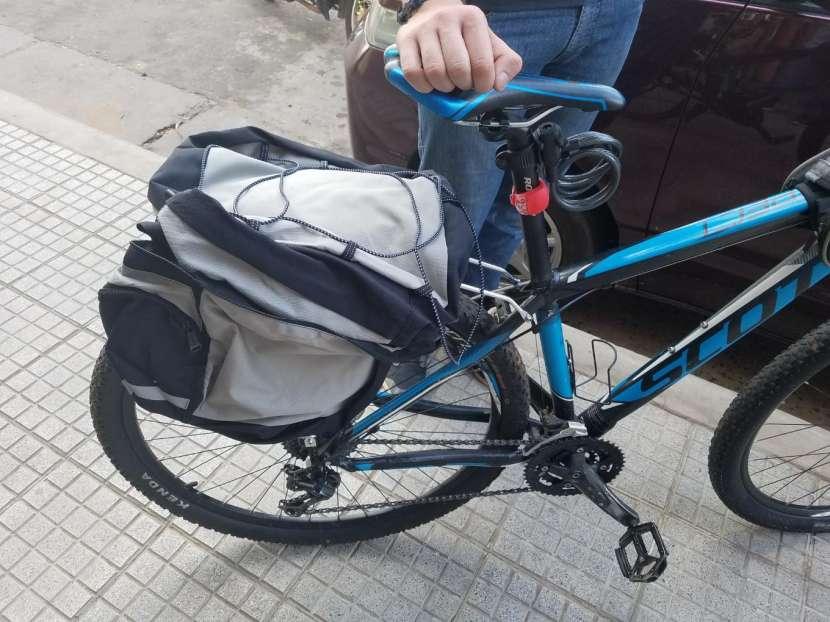 Porta bulto trasero para bicicleta - 1