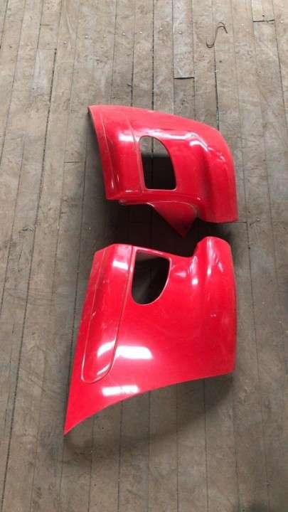 Puntera de paragolpe para toyota funcargo (rojo) - 0