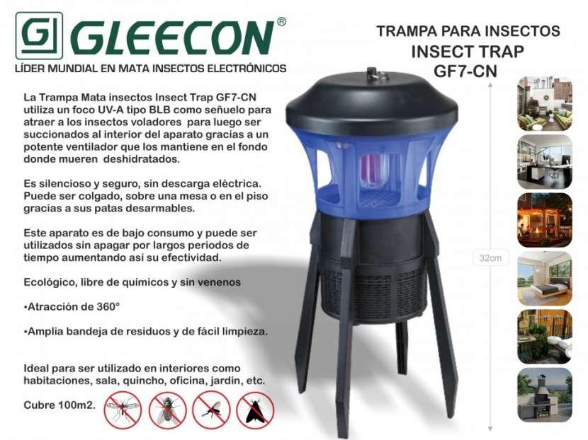 Mata insectos gleecon trampa para insectos GF-7CN - 0