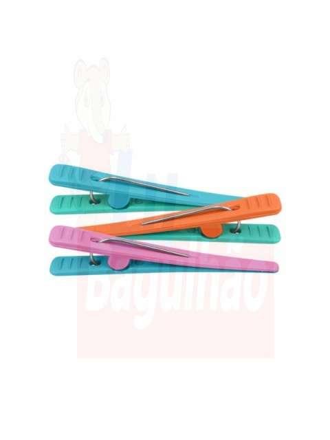 Clips plastico bicolor - 0