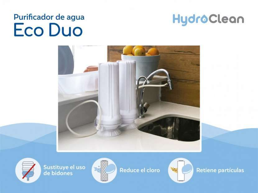 Purificador de agua eco dúo - 1