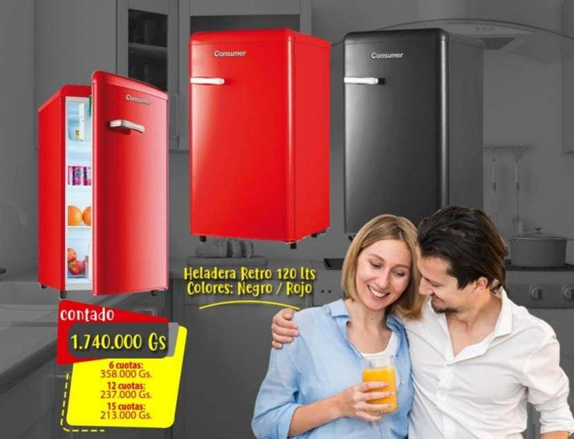 Frigobar retro 110 lts Consumer - 0