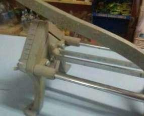 Máquina para cortar papas