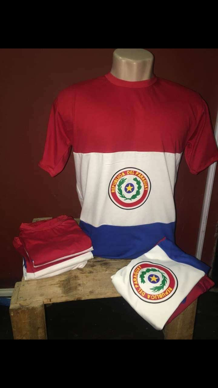 Remeras Paraguay - 0