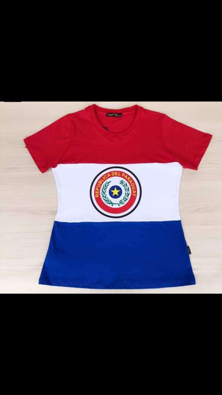 Remeras Paraguay - 3