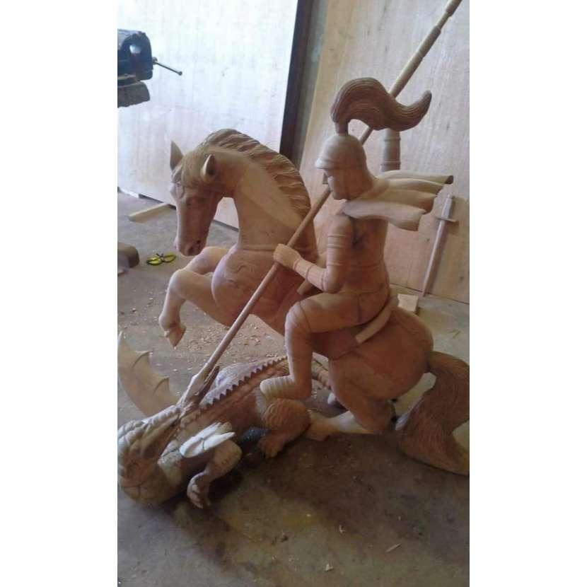 Imágenes religiosas en madera - 4