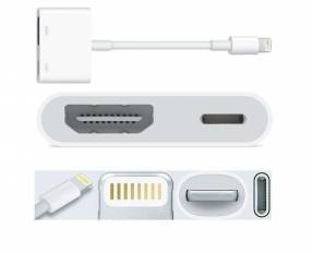 Adaptador HDMI Lighting iphone