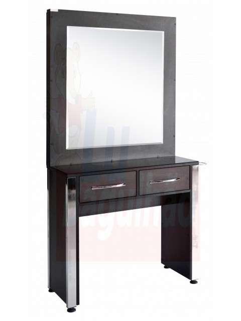 Espejo console Gaudi negro - 0