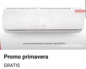 Aire acondicionado Confortem 18.000 btu