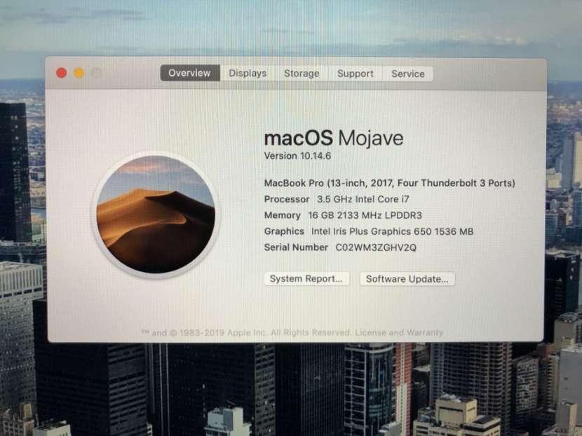 Macbook Pro 13 pulgadas Touchbar 2017 - 3