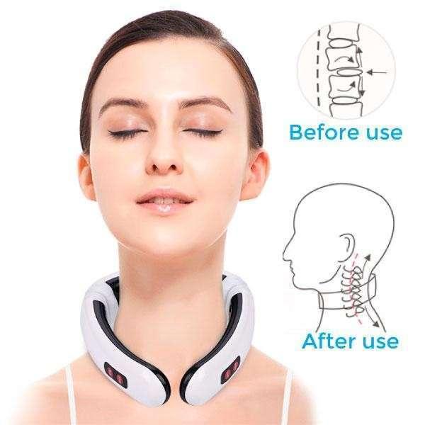 Masajeador de cuello terapéutico - 0