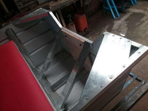 Bote de chapa zinc - 6