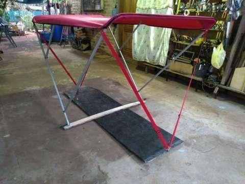 Techo plegable para bote - 2