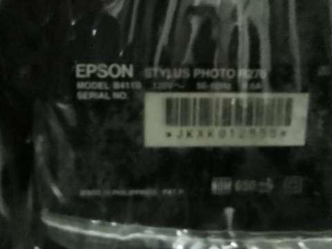 Impresora Epson Stylus Photo R270 - 0