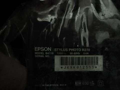 Impresora Epson Stylus Photo R270 - 1