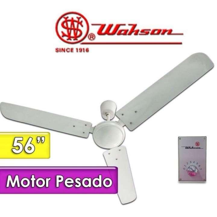 Ventilador de techo Wahson motor pesado - 0