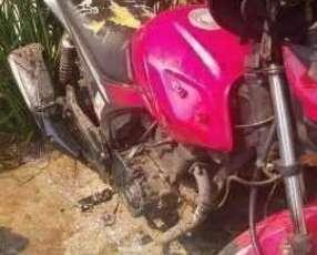 Moto Taiga CR1 rojo 150 cc