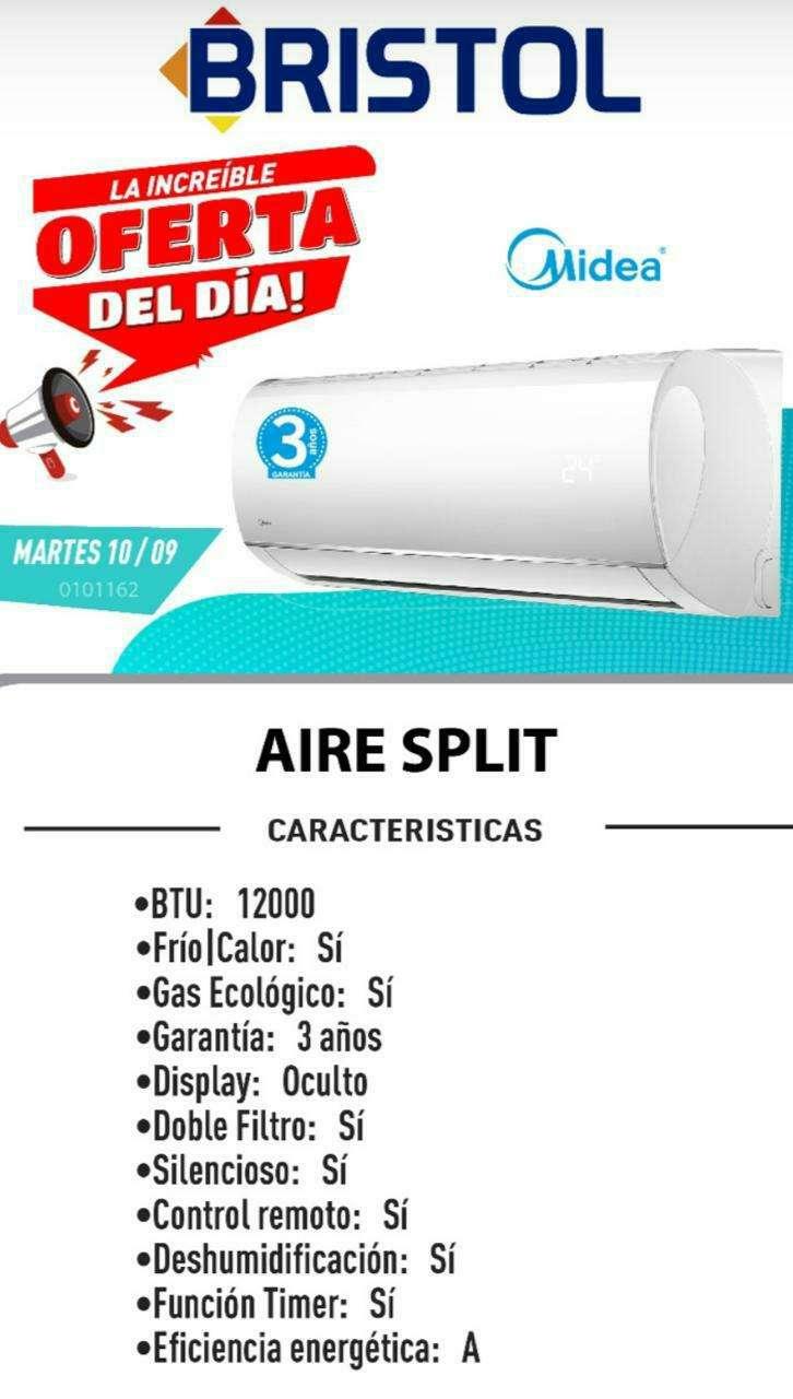 Split Midea de 12.000 btu - 0