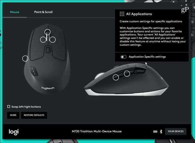 Logitech Kit Teclado Mouse Inalámbrico MK 850 - 4