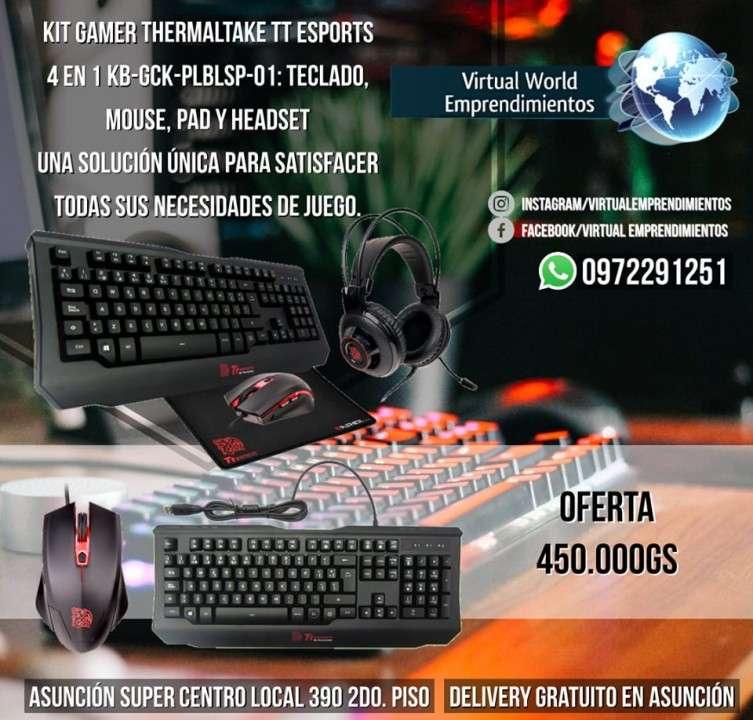 Kit gamer Thermaltake TT eSports 4 en 1 - 0