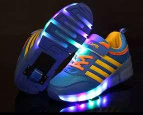 Zapatillas luminosas para niña