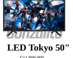 TV LED Tokyo FHD 50 pulgadas DLED Grado A