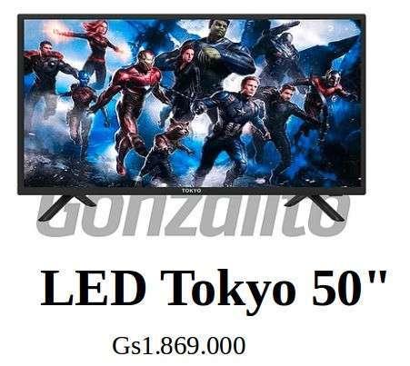 TV LED Tokyo FHD 50 pulgadas DLED Grado A - 0
