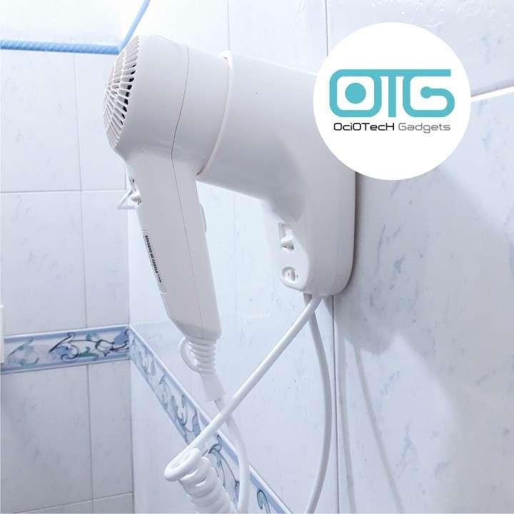 Secador de cabello con soporte para pared - 0