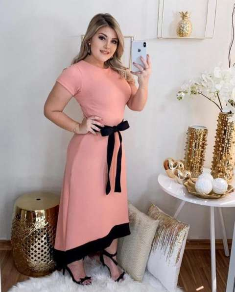 Vestidos Moda Evangélica Dayren Id 613282