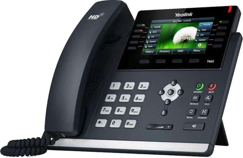 Voip teléfono ip yealink/yeastar sip-t46s - 0