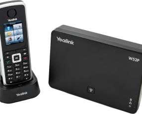 Voip teléfono ip base+handset yealink/ yeastar w52p