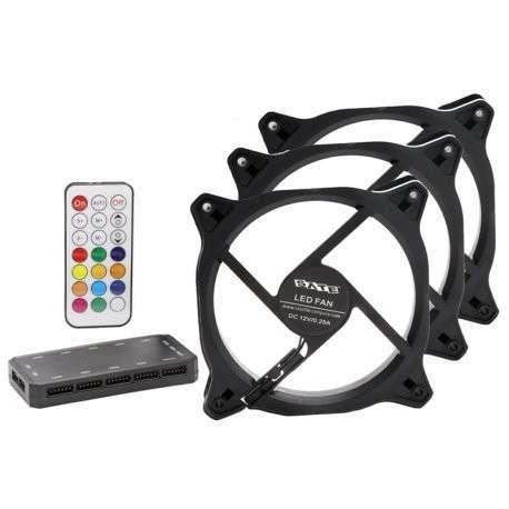 Cooler RGB combo 3 unidades para PC - 5