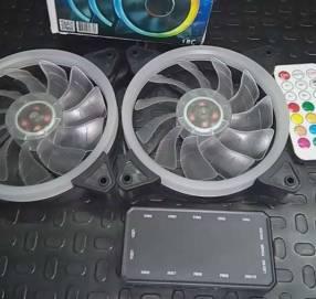 Cooler RGB combo 3 unidades para PC