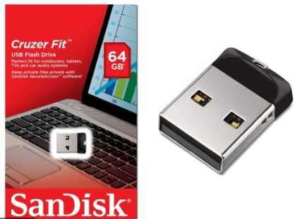 Pendrive SanDisk Ultra Fit 64 GB - 1