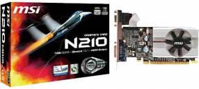 VGA MSI N210-MD 1GB/DDR3/64 bit 589/1080