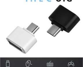 Cable otg usb a type c