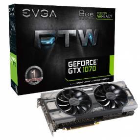 VGA EVGA GTX1070 FTW 8GB DDR5 1607 DVI/HDMI/3DP